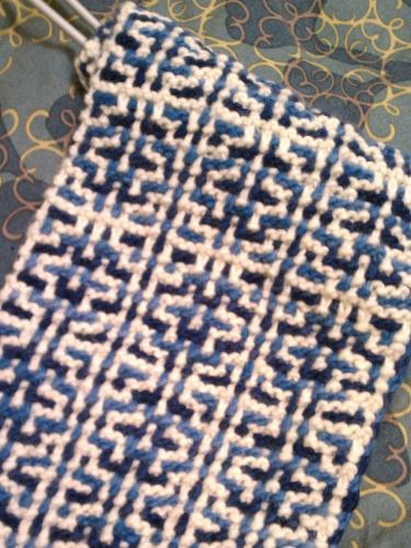 Knitting Pattern Generator : Mosaic Knitting Pattern Generator, Laura Koglers Portfolio